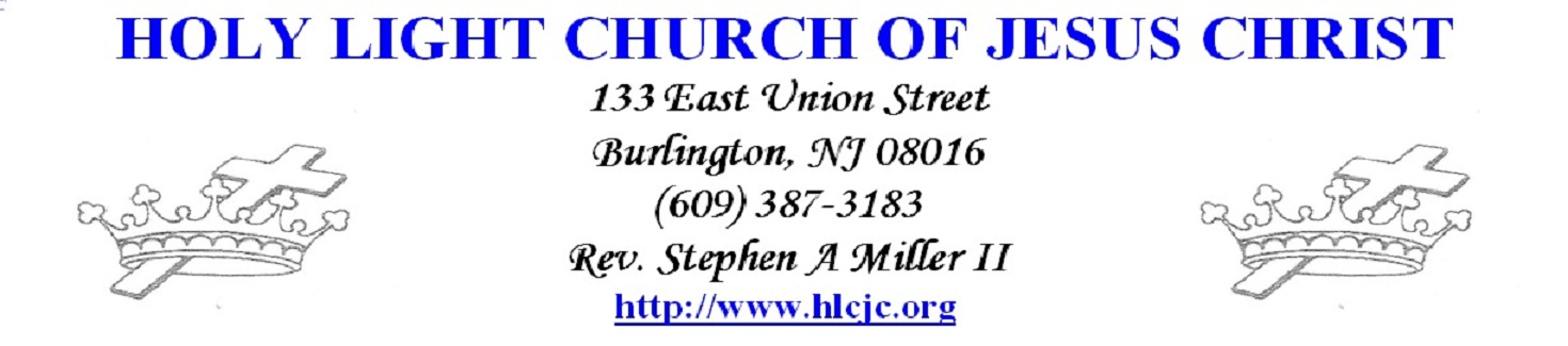 Holy Light Church Of Jesus Christ  Prayer Requests If You Would